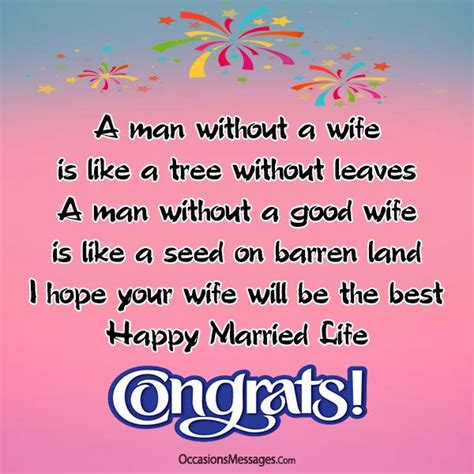 Wedding Wishes For by Wedding Wishes And Messages For Occasions Messages