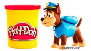 paw patrol chase stop motion play doh clay animation play dough claymation paw patrol toy eggs