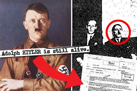 hitler born to be alive full version cia files reveal adolf hitler still alive as nazi