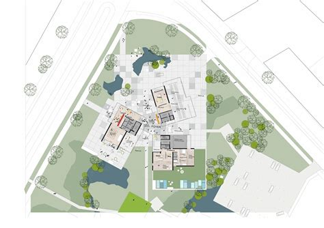 Architect Plans gallery of university of southern denmark student housing