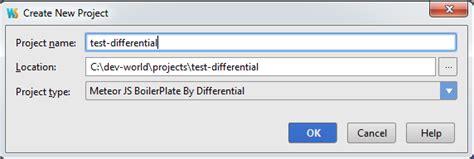 meteor js template jetbrains plugin repository