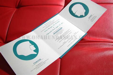 desain undangan pernikahan islami undangan pernikahan islami single hard cover shc 03