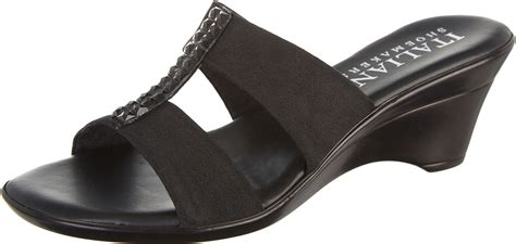 italian shoemakers womens vital wedge sandals ebay
