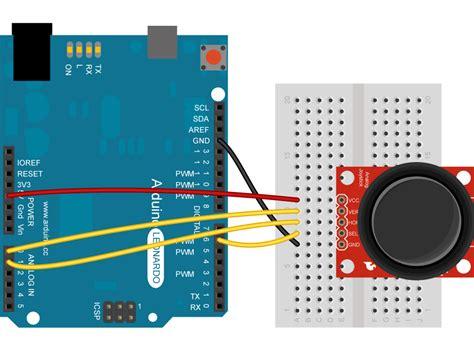 tutorial arduino joystick arduino joystickmousecontrol