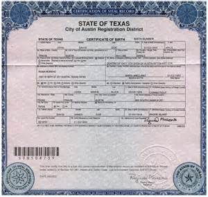 Birth Certificate Issue Letter birth certificate