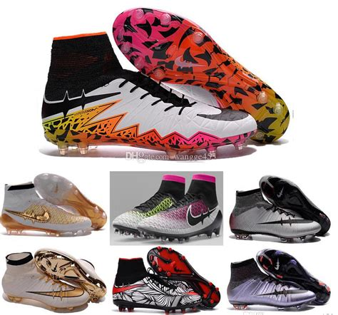 football shoes with socks cheap 2016 tf turf superfly fg ag soccer shoes high