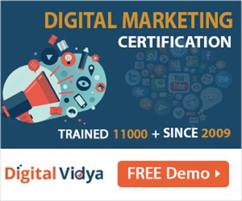 digital marketing certification course in india digital review of digital vidya s digital marketing certification