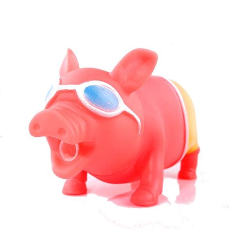 Pig Squeeze big size trick toys screaming pig squeeze sound