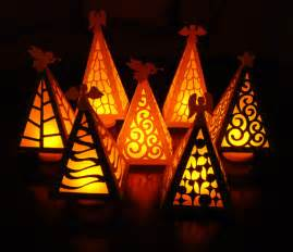 christmas tree luminary digital cutting by peadenscottdesigns
