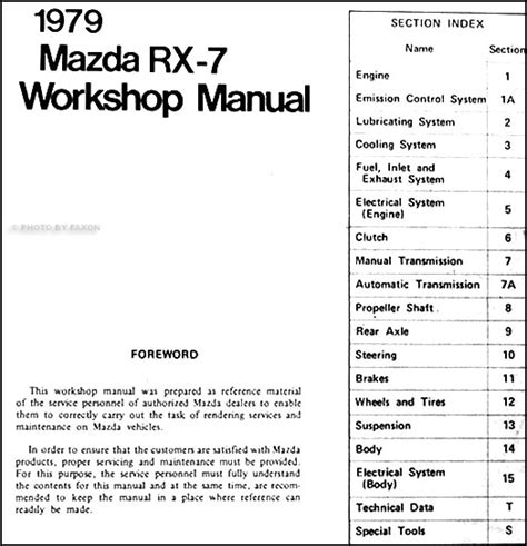 service manual auto repair manual online 1987 mazda rx 7 free book repair manuals service