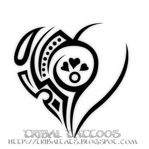 tribal broken heart tattoos tribal tattoos flash 10 unique designs of tribal