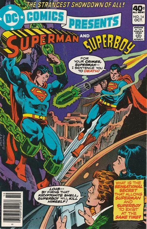 libro superman dc classic vol 2 lafeltrinelli dc comics presents vol 2 no 14 1979 superman vs superboy by thesamantics vintage comic