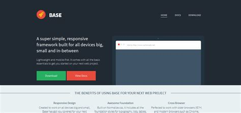 html layout mobile devices 17 minimal css frameworks grid systems for web developers