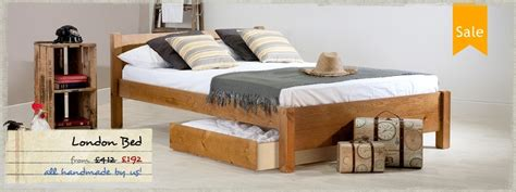 Handcrafted Beds - wooden beds handmade low beds with fast delivery get