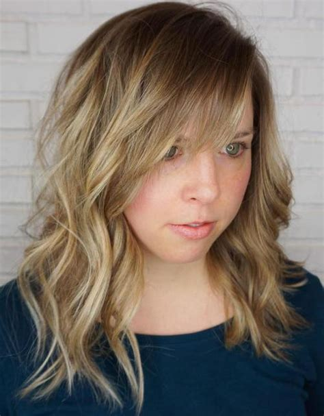 Wavy Hairstyles With Bangs by 40 Side Swept Bangs To Sweep You Your