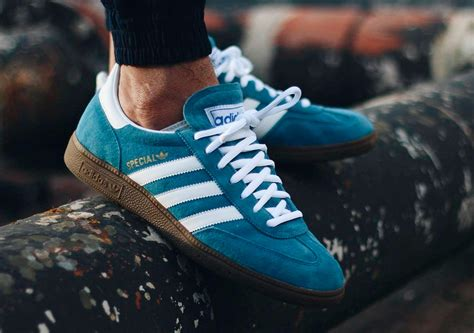 Adidas Handball Spezial Blue White adidas handball spezial blue white by sum tam