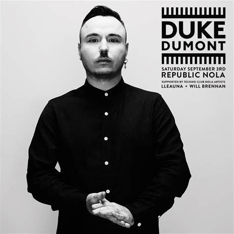 Duke Dumont duke dumont hits new orleans this labor day weekend