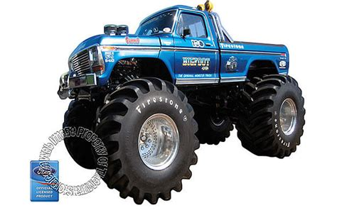 original bigfoot monster truck bigfoot the original monster truck wall mural