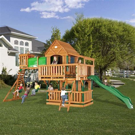 backyard clubhouse plans kids clubhouse plans woodridge clubhouse jungle gym and