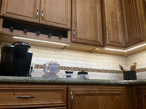 Under Cabinet Lighting Led With White Light Ideas Home Led Lighting Kitchen Cabinet
