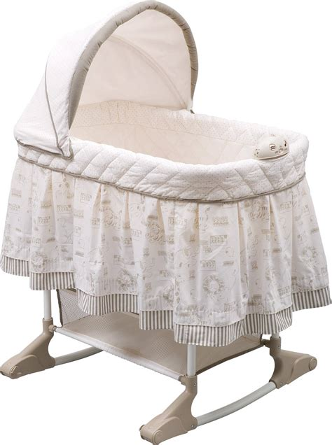 bassinet bedding delta children play time rocking bassinet jungle target