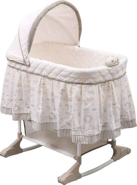 baby bassinet bedding delta children play time rocking bassinet jungle target