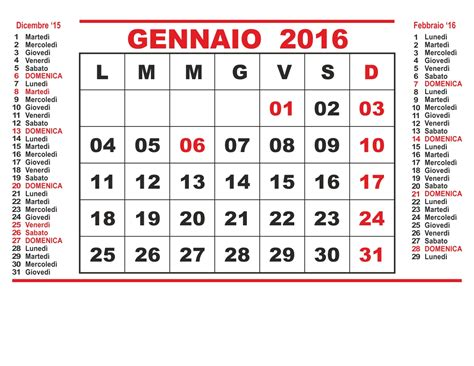 calendario 2016 mensile plan calendario 2016 mensile calendar template 2016