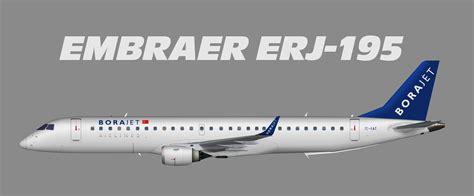 Bor Jet borajet embraer erj 190 juergen s paint hangar