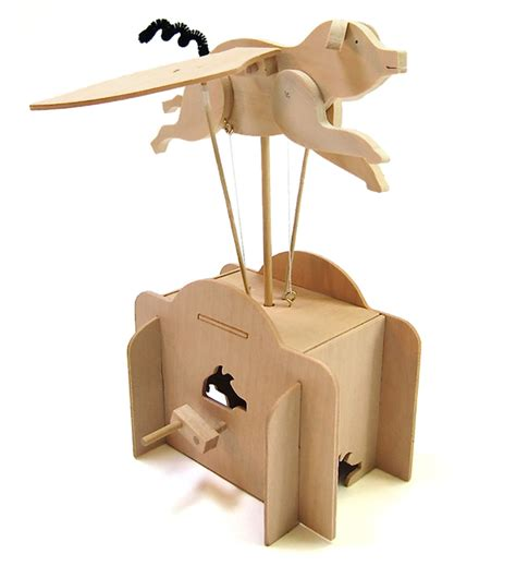 design brief moving toy flying pig pathfinders