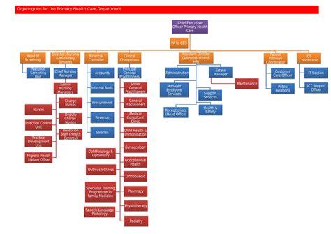 organization pattern of primary health centre organisation structure