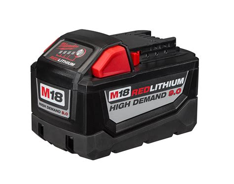 resetting milwaukee battery milwaukee high demand 9 ah battery pack tool box buzz