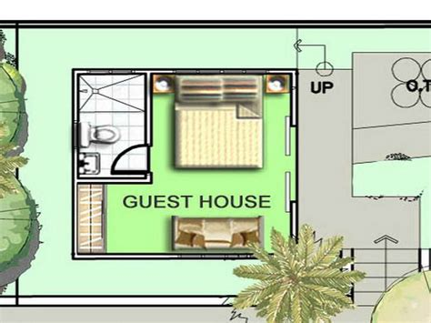 house plan with guest house flooring guest house floor plans eplans home plans