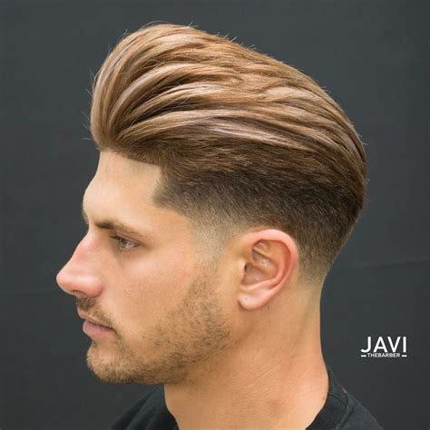 haircut sle men pompadour fade haircuts