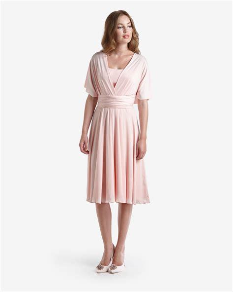 Beige Multi Way Coat ted baker multiway wrap ballerina dress in lyst