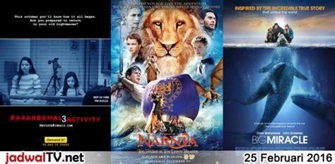 jadwal film indonesia februari 2016 jadwal film dan sepakbola 25 februari 2016 jadwal tv