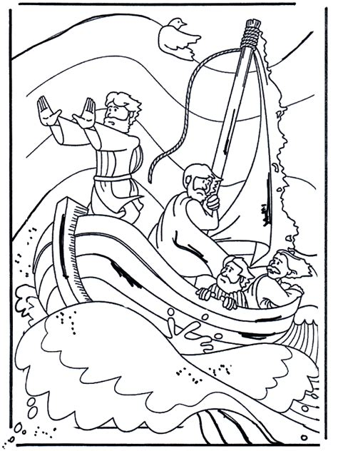 coloring pages of jesus miracles jesus calms a storm coloring page bible jesus and his