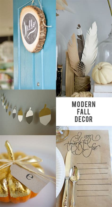 17 best ideas about modern fall decor on