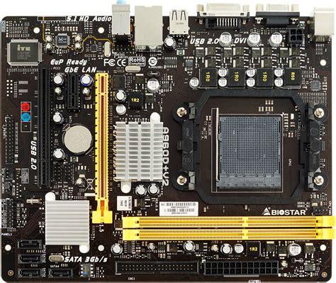 Motherboard Biostar A960d a960d v2 ver 6 x amd socket motherboard gaming biostar