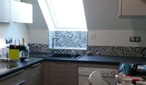 cr馘ence cuisine carreaux de ciment carreaux ciment cuisine maison design sphena com