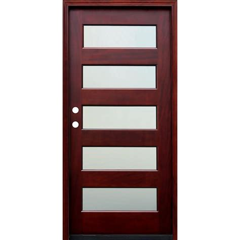 wood entry doors door wood doors front doors exterior doors the home depot