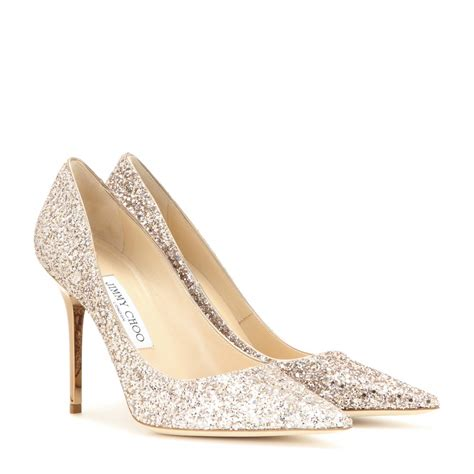 14 Jimmy Choo Shoes by Lyst Jimmy Choo Agnes Glitter Embellished Pumps In