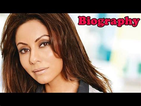 biography gauri khan shah rukh khan biography funnydog tv