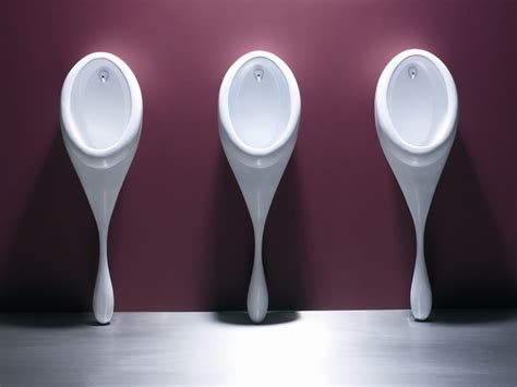 High End Kitchen Faucets spoon urinal by philip watts