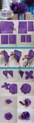 Cool Tissue Paper Crafts - diy tissue paper flower pictures photos and images for