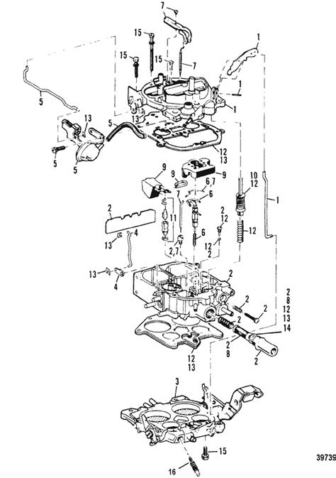mercruiser  bravo gm      carburetor parts