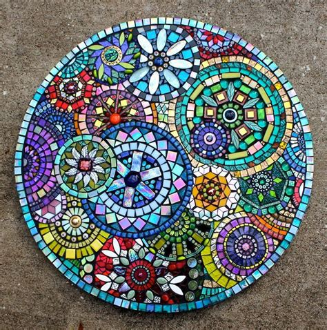 glass mosaic pattern maker 17 best images about stepping stones patterns on