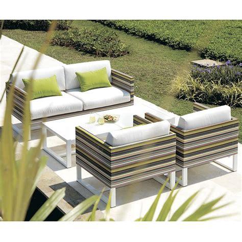 Mamagreen Stripe Green Outdoor Sofa Homeinfatuation Com Mamagreen Outdoor Furniture