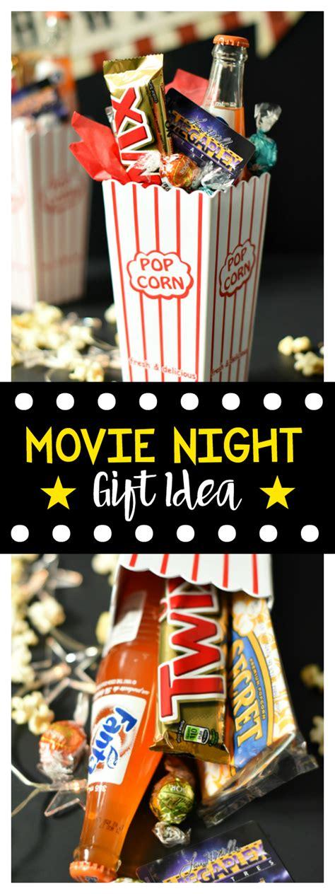 Movie Night  Ee  Gift Ee   Idea Fun Squ D