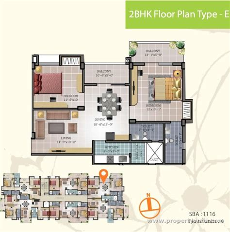 2bhk floor plan maa tara rathnam bommasandra bangalore apartment