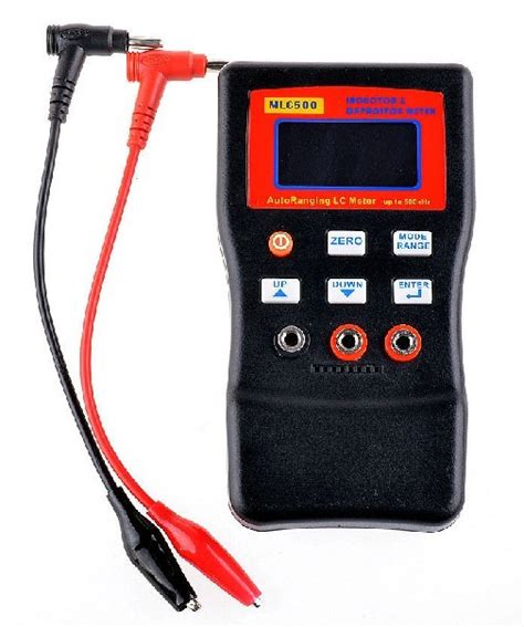inductor and capacitor meter mlc500 auto ranging lc meter 500 khz test inductor and capacitor 1 accuracy